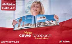 CEWE - Europe's largest Photofinisher contrinues to promote its highly successful photo book range.