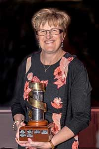 Louise Miller (Griffith Camera House) was named Camera House Member of the Year.