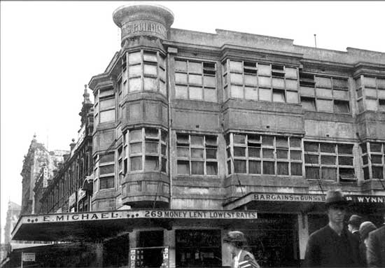 Michaels in 1918 - two years after it's construction by the first generation Emanuel. Michaels