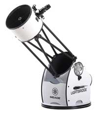 Meade LightBridge 12-inch f/5 Truss-Tube Dobsonian