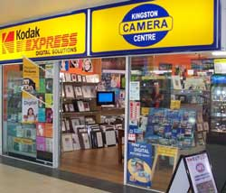 Kingston Camera Centre prior to its closure in February. The slow-down in photo printing also led to fewer frames and albums being sold. & Three Hobart photo specialists close doors | PhotoCounter